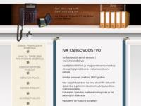Frontpage screenshot for site: (http://www.iva-knjigovodstvo.hr)