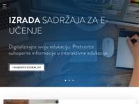 Frontpage screenshot for site: HalPet - tečajevi poslovnih stranih jezika, komunikacijske vještine (http://www.halpet.hr/)