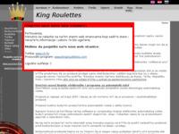 Slika naslovnice sjedišta: TAR-Vizjak proizvodnja cilindara elektronskih ruleta (http://www.tar-vizjak.com/king/)