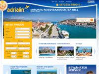 Slika naslovnice sjedišta: Adrialin privatni smještaji (http://www.kroatien-adrialin.de/)