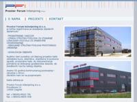 Slika naslovnice sjedišta: Prostor Forum Inženjering d.o.o. (http://www.pfi.hr/)
