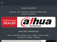 Slika naslovnice sjedišta: Expert security systems d.o.o. (http://www.es-s.hr)