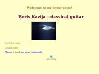 Frontpage screenshot for site: Boris Kazija - meditacije uz gitaru (http://free-ri.t-com.hr/Boris-Kazija/)