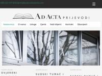 Frontpage screenshot for site: Sudski tumači, prevoditelji i vještaci (http://www.sudski.com)