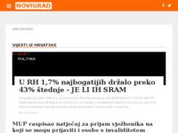 Slika naslovnice sjedišta: Internet portal grad Novigrad (http://grad-novigrad.net/)