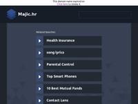 Frontpage screenshot for site: Bistro Dunja (http://www.majic.hr)