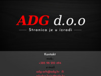 Slika naslovnice sjedišta: Adg - projektiranje i inženjering (http://www.adg.hr)
