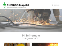 Frontpage screenshot for site: Energo inspekt d.o.o. (http://www.energoinspekt.hr)
