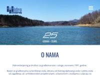 Slika naslovnice sjedišta: hidroinzenjering d.o.o. (http://www.hidroinzenjering.hr/)