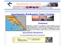 Frontpage screenshot for site: Apartmani Omiš, Ruskamen (http://apartments-croatia.info/241/ruskamen_en.htm)