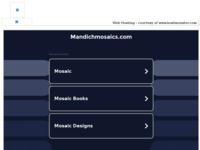 Frontpage screenshot for site: Gordan Mandich (http://www.mandichmosaics.com/)