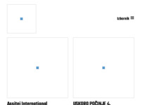 Frontpage screenshot for site: Hrvatski centar Assitej (http://www.assitej.hr/)