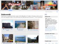 Frontpage screenshot for site: Turistička galerija slika grada Dubrovnika (http://pictures.dubrovnik-guide.net/)