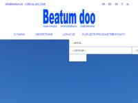 Frontpage screenshot for site: Beatum d.o.o. - Agencija za nekretnine (http://www.beatum.hr/)