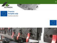 Slika naslovnice sjedišta: Alpron (http://www.alpron.hr/)