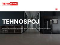 Slika naslovnice sjedišta: Tehnospoj d.o.o. (http://www.tehnospoj.hr/)