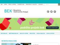 Slika naslovnice sjedišta: Besplatne elektroničke knjige (http://www.elektronickeknjige.com/)