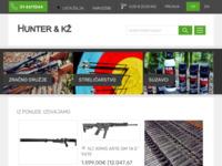 Slika naslovnice sjedišta: Hunter - oprema za ribolov, lov i zabavu (http://www.hunter-kz.hr)