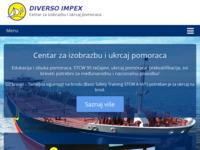 Slika naslovnice sjedišta: Diverso impex d.o.o. - Centar za izobrazbu pomoraca (http://www.diversoimpex.hr)