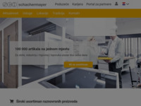 Frontpage screenshot for site: Schachermayer - Croatia (http://www.schachermayer.hr)