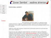 Frontpage screenshot for site: Zoran Sambol - osobne stranice (http://www.inet.hr/~zsambol/)