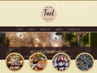 Frontpage screenshot for site: Pizzeria TInel- Blato (http://www.tinel.hr)