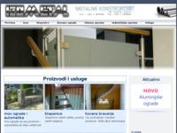 Slika naslovnice sjedišta: Izometal (http://www.izometal.hr)