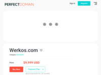 Frontpage screenshot for site: Werkos d.o.o. (http://www.werkos.com/)