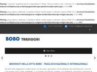 Slika naslovnice sjedišta: Bobo selidbe - Švicarska (http://www.bobo-traslochi.ch)