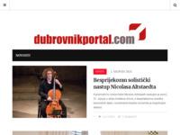 Frontpage screenshot for site: Dubrovnik News (http://www.dubrovnikportal.com/)