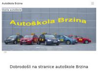 Slika naslovnice sjedišta: Auto škola Brzina (http://www.autoskola-brzina.hr)