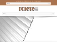 Slika naslovnice sjedišta: ROLETE d.o.o. (http://www.rolete.hr)