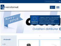 Slika naslovnice sjedišta: Vendomat d.o.o. (http://www.vendomat.hr/)
