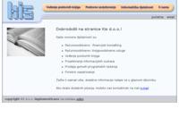 Slika naslovnice sjedišta: KIS d.o.o., Knjigovodstveno-informatički servis (http://www.kis.hr/)