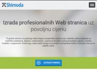 Slika naslovnice sjedišta: Shimoda - Internet usluge (http://www.shimoda.hr)