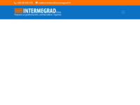 Frontpage screenshot for site: Intermegrad d.o.o. (http://www.intermegrad.hr/)