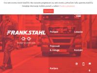 Frontpage screenshot for site: Frankstahl Zagreb d.o.o. (http://www.frankstahl.hr)