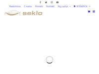 Slika naslovnice sjedišta: Seklo d.o.o. (http://www.seklo.hr)