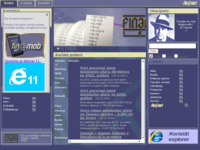 Frontpage screenshot for site: (http://www.finansing.hr)