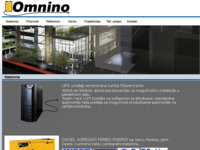 Frontpage screenshot for site: Omnino d.o.o (http://www.omnino.hr)