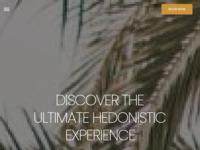 Frontpage screenshot for site: ZORI Restaurant Palmizana, Hvar (http://www.zori.hr/)