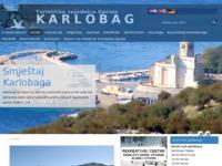 Slika naslovnice sjedišta: Turistička zajednica općine Karlobag (http://www.tz-karlobag.hr/)