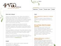 Frontpage screenshot for site: Sekvoja - centar za jezično i poslovno savjetovanje (http://www.sekvoja.net/)