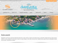 Frontpage screenshot for site: (http://www.island-krk.info)
