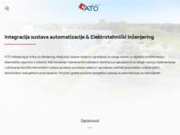 Slika naslovnice sjedišta: ATO Inženjering d.o.o. Osijek (http://www.ato.hr/)