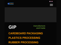 Slika naslovnice sjedišta: Gip - Obrt za proizvodnju i trgovinu (http://www.gip.hr)