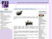 Slika naslovnice sjedišta: revizija - računovodstvo - sudska vještačenja (http://www.fiba.hr/)