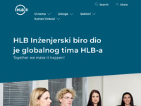Frontpage screenshot for site: (http://www.ibr.hr)
