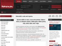 Slika naslovnice sjedišta: Španja, d.o.o. Vodice (http://www.spanja.com/)