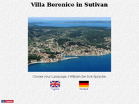Frontpage screenshot for site: Villa Berenice - Sutivan, otok Brač (http://www.sutivan.ch)
